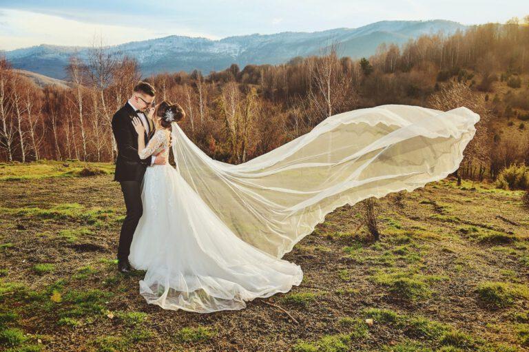 Wedding nunta sedinta foto la munte transluncani
