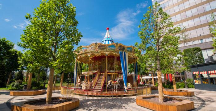 parcul iulius town timisoara