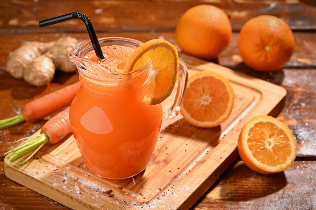 suc fresh de portocale